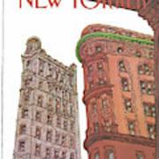 New Yorker November 9th, 1981 Poster