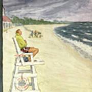 New Yorker September 13th, 1952 Poster