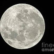 New Zealand Moon Poster