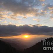 Newfound Gap Sunrise - D008233 Poster