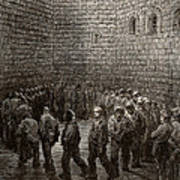 Newgate Prison Exercise Yard Poster