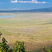 Ngorongoro Crater In Tanzania Africa Poster