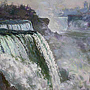 Niagara American Falls 2 Poster