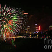Niagara Falls Fireworks Poster