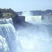 Niagara Falls - New York Poster by Mike McGlothlen