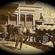 Niagra Carting Wagon Extras The Great White Hope Set Globe Arizona 1969-2014 Poster