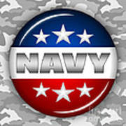 Nice Navy Shield 2 Poster