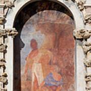 Niche Fresco In Real Alcazar Of Seville Poster