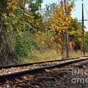 Nickel Plate Train Tracks Poster