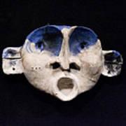 Nico Cobalt Mask Poster by Mark M  Mellon