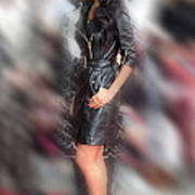 Nicole Scherzinger 24 Poster by Jez C Self