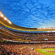 Night Game At Target Field Poster by Heidi Hermes
