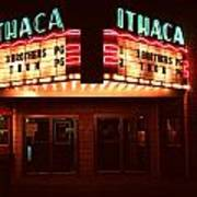 Night Lights Ithaca Theater Poster