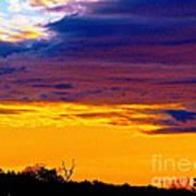 Night Thinks Of Day Poster by Q's House of Art ArtandFinePhotography