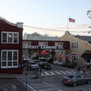Nightfall Over Monterey Cannery Row California 5d25146 Poster