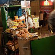 Nighttime Vendor Poster