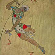 Nijinsky In 'le Festin/ L'oiseau D'or' Poster