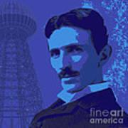 Nikola Tesla #2 Poster