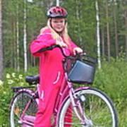 Nine Million Bicycles - Sweden. Poster