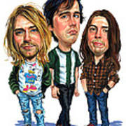 Nirvana Poster by Art