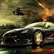 Nissan G T R Poster