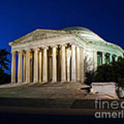 Nite At The Jefferson Memorial Poster