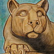 Nittany Lion Poster