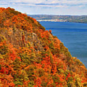 N.j. Palisades Awesome Autumn  Poster