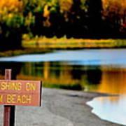 No Fishing I Poster