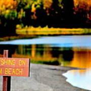 No Fishing II Poster