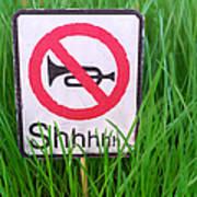 No Horn Shhh... Poster