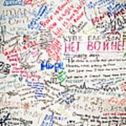 No To War 9/11 Poster