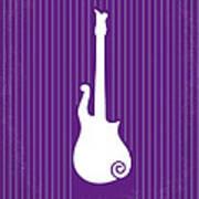 No124 My Purple Rain Minimal Movie Poster Poster by Chungkong Art