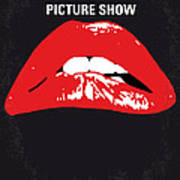 No153 My The Rocky Horror Picture Show Minimal Movie Poster Poster by Chungkong Art