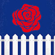 No170 My Blue Velvet Minimal Movie Poster Poster
