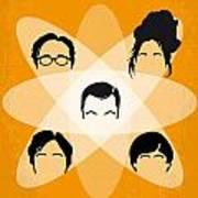 No196 My The Big Bang Theory Minimal Poster Poster