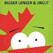No364 My Bigger Longer Uncut Minimal Movie Poster Poster