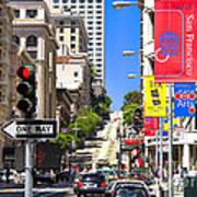 Nob Hill - San Francisco Poster