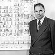 Nobel Winner Glenn Seaborg Poster