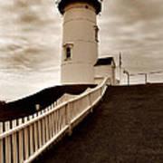 Nobska Lighthouse Poster