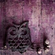 Nocturnal In Pink Poster by Priska Wettstein
