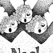 Noel Angels Poster