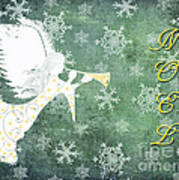 Noel Christmas Card Poster