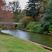 Norfolk Botanical Gardens Canal 3 Poster