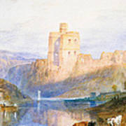 Norham Castle An Illustration To Marmion By Sir Walter Scott Poster
