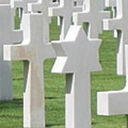 Normandy American Cemetery Poster
