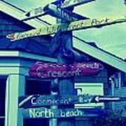 North Beach Poster