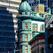 North Beach Victorian - San Francisco Poster