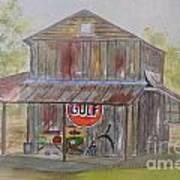 North Carolina Barn Poster