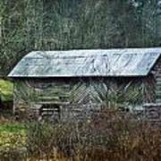 North Carolina Country Barn Poster